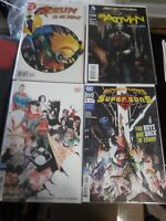 Batman, Supersons, Robin Girl Wonder Lot (4) (DC) NM Condition, Free Shipping!