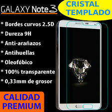 CRISTAL TEMPLADO PROTECTOR DE PANTALLA 9H PARA SAMSUNG GALAXY NOTE 3 9H 2.5D