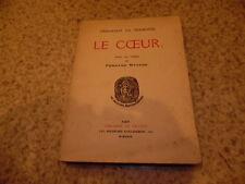 1929.Le coeur.Gérardot de Sermoise (envoi)
