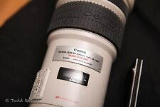 Canon EF 500mm f/4 L IS USM lens with Case, Hood in Perfect Condition, extras