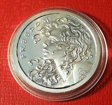 2013 Silver Shield~ Freedom Girl  Round 1 Troy oz.999 Silver on Capsule