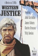 Western Justice (DVD, 2007, 2-Disc Set) NEW