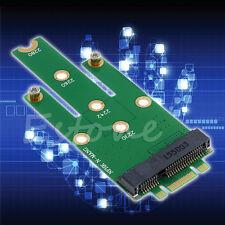 New mSATA Mini PCI-E 3.0 SSD to NGFF M.2 B Key SATA Interface Adapter Card