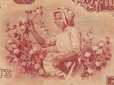 Burma P54, 10 Kyat, General Aung San / woman picking cotton - 1964  VF+