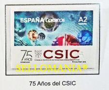 2015 75 ANIVERSARIO DEL CSIC EDIFIL 4931 ** MNH SCIENTIFIC INVESTIGATION TC20469