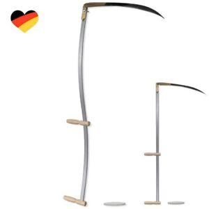Sensensichel Sense Sichel 140cm Sensenbaum + Wetzstein Sensenstiel Wettschliff