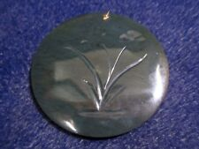 Nephrite / Jade from Wyoming - Treasure Packs - Nephrite Medallion