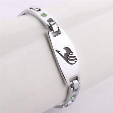 Metal Bracelet Fairy Tail Wristband Guild Logo Symbol Gray Cosplay Gift Natsu NN