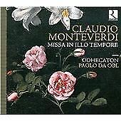 Monteverdi: Missa in Illo Tempore, Odhecaton, Audio CD, New, FREE & Fast Deliver