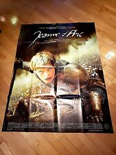 """JOAN OF ARC - The Messenger (1999) Milla Jovovich French 13"""" x 10"""" MOVIE POSTER!"""