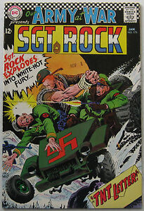 Our Army At War #175 (Jan 1967, DC), VFN-NM condition