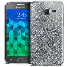 Crystal case for galaxy core prime g360 extra slim rigid lace texture