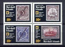 s1890b) MARSHALL ISL.  1984 MNH** World postal congress 4v