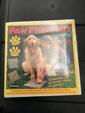 Milestones Paw Print Kit - New In Box! Stepping Stone