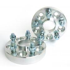 4 Pcs CNC Wheel Spacers 5X114.3 To 5X114.3 | 66.1 CB | 12X1.25 | 32MM 1.25 Inch
