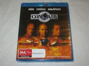 Con Air - Nicolas Cage - Brand New & Sealed - Region A, B, C - Blu Ray