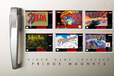 FRIDGE MAGNET - Super Nintendo SNES-Inspired Collection - IDEAL CHRISTMAS GIFT!