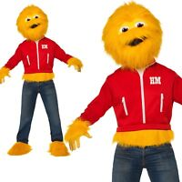 Honey Monster Costume Sugar Puffs 80s Retro Animal Adult Mens Fancy Dress