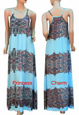 Paisley Hand-wash Only Regular Size Maxi Dresses for Women