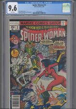 Spider-Woman #2 CGC 9.6 1978 Marvel Comics  Marv Wolfman Story