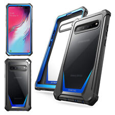 Galaxy S10 5G Case Poetic [Guardian] Built-in-Screen Protector Cover Blue