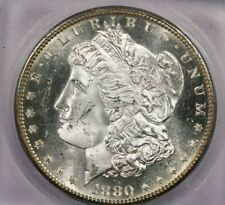 1880-S 1880 Morgan Silver Dollar ICG MS64 PL