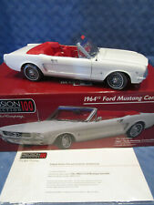PRECISION COLLECTION 100 FORD MOTOR CO, 1964 1/2 FORD MUSTANG CONVERTIBLE, 1:18