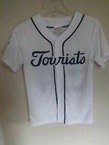 100th Anniversary 1954 MiLB Asheville Tourists SGA Button Down Jersey Youth M