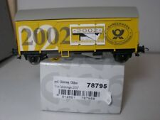 Sachsenmodelle 78795 Freight Car gklms Post Annual Wagon 2002 For H0,NIB NEM KKK