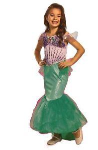 *NEW* Disney Disguise Ariel Little Mermaid Princess Child Costume