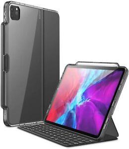 For iPad Pro 12.9 inch 4th/3rd Gen 2020/2018 i-Blason Case Use w/ Keyboard Folio