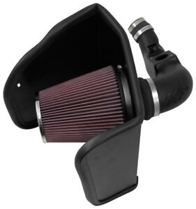 Fits GMC Canyon 2016-2018 2.8L Diesel K&N 63 Series Aircharger Cold Air Intake