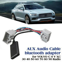 Car AUX IN Bluetooth Adapter Music Audio Receiver For Volvo C S V CX 30 40 50 60