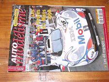 $$$ Revista Auto modelismo HS N°1 Les 24 Horas le Mans 1998LOS 48 comprometidos