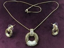 Indian Bollywood Style Traditional Jewelry - Necklace with Earrings (Brand New)