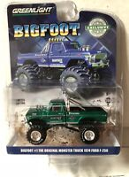 GREENLIGHT 29934 Chase 1974 FORD F-250 MONSTER TRUCK BIGFOOT #1 1/64 DIECAST