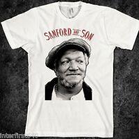 Red Foxx Sanford Graffiti Adult T-Shirt Tee