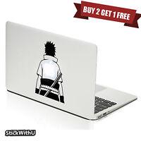 Macbook Air Pro Vinyl Skin Sticker Decal Naruto Anime Hero Back Silhouette M547