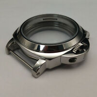 44mm Metal Watch Case Polished Shell for Eta 6497/6498 Seagull ST36 Movement HYA