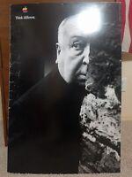 "Rare VTG Alfred Hitchcock THINK DIFFERENT Apple foam board stiff poster 24""x36"""