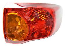 Tail Light Toyota Corolla 05/07-04/10 New Right RHS Sedan ZRE152 Rear Lamp 08 09