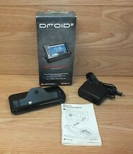 Motorola Multimedia Docking Station & AC Power Supply In Box For Droid / Droid 2