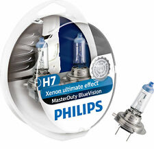 COPPIA Lampada Lampadina Luce PHILIPS MasterDuty BlueVision H7 (PX26d) 24V 70W