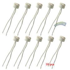 10 Pcs Halogen MR16 G4 Lamp Base Socket Wire Holder Connector Adapter Converter