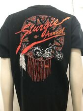 Vtg Sturgis 2001 Men's T-Shirt Large 61st Annual Black Hills of SD Rally & Races