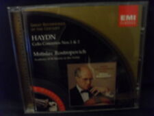 Haydn-Cello Concertos Nos 1 & 2-Rostropovich/Academy of St Martin in the F....