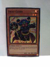 Yugioh Swap Cleric Holo Super Rare Figa-en036