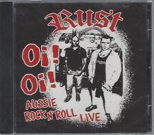 RUST - Oi! Oi! AUSSIE ROCK N' ROLL LIVE - (still sealed cd)