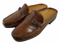 Cole Haan D10762 Country Buckle Moc Toe Stitched Walking Mules Women's US 7B