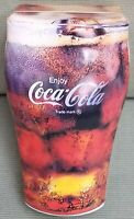 1998 Coca-Cola Glass Shaped Tin